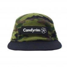 CANDYRIM -wareline- FLEECE JET CAP camobk