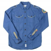 <img class='new_mark_img1' src='//img.shop-pro.jp/img/new/icons14.gif' style='border:none;display:inline;margin:0px;padding:0px;width:auto;' />RISEY DMK SHIRT JACKET blue