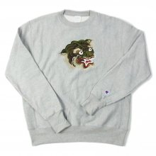 LOOKER CAMO TIGER SWEAT -gray-