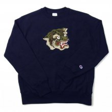 LOOKER CAMO TIGER SWEAT -navy-