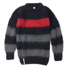 "AKA SIX simon barker × FRAGMENT DESIGN ""MOHAIR JUMPER"" -border-"