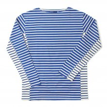 <img class='new_mark_img1' src='//img.shop-pro.jp/img/new/icons41.gif' style='border:none;display:inline;margin:0px;padding:0px;width:auto;' />TRANSPORT BASQUE SHIRT Messag 2 Picasso -MARINE BORDER BLUE x WHITE-