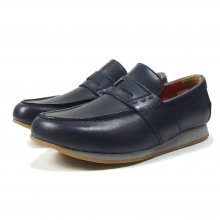 "THE COLOR ""T PENNY LOAFERS"" NAVY"