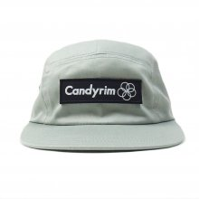 CANDYRIM -wareline- TWILL JET CAP -gray/black-