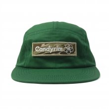 CANDYRIM -wareline- TWILL JET CAP -green/camo-