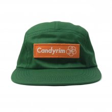 CANDYRIM -wareline- TWILL JET CAP -green/orange-