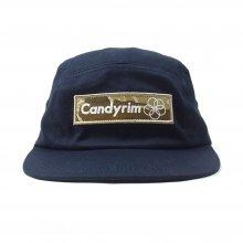 CANDYRIM -wareline- TWILL JET CAP -navy/camo-