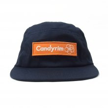 CANDYRIM -wareline- TWILL JET CAP -navy/orange-