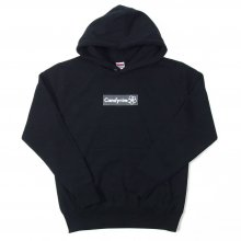 <img class='new_mark_img1' src='//img.shop-pro.jp/img/new/icons14.gif' style='border:none;display:inline;margin:0px;padding:0px;width:auto;' />CANDYRIM -wareline- BOX LOGO PULLOVER HOODIE -black/dark gray-