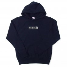 <img class='new_mark_img1' src='//img.shop-pro.jp/img/new/icons14.gif' style='border:none;display:inline;margin:0px;padding:0px;width:auto;' />CANDYRIM -wareline- BOX LOGO PULLOVER HOODIE -navy/black-