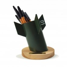 "yellow HAMMER ""BOMBER PEN HOLDER"""