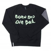 "AKA SIX simon barker ""BORN BAD SWEAT SHIRT"" -black-"