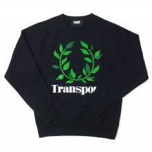 TRANSPORT LAUREL SWEAT -black-