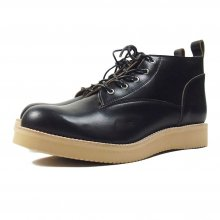 "THE COLOR ""FOUR STARS SHORT BOOTS by Tomo & co"" BLACK"