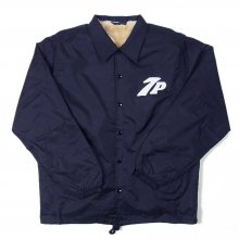 TRANSPORT 7P LOGO BOA COACH JACKET -navy-