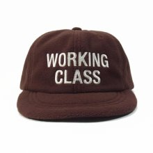 THE COLOR  WORKING CLASS CAP fleece -brown-