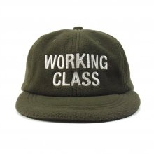 THE COLOR  WORKING CLASS CAP fleece -olive-