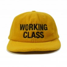 THE COLOR  WORKING CLASS CAP fleece -yellow-