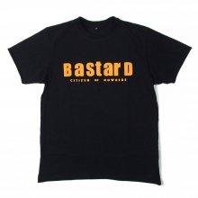 "AKA SIX simon barker ""BASTARD TEE"" -black-"