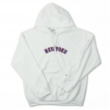 UNIIN NEW-YOKU SWEAT PARKER -white-