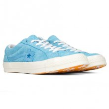 <img class='new_mark_img1' src='//img.shop-pro.jp/img/new/icons14.gif' style='border:none;display:inline;margin:0px;padding:0px;width:auto;' />CONVERSE x GOLF le FLEUR One Star Ox Bachelor Button - Carolina Blue