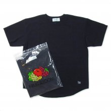 Hombre Nino × FRUIT OF THE LOOM 2PACK TEE -black-