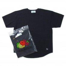 Hombre Nino × FRUIT OF THE LOOM 2PACK TEE -black-