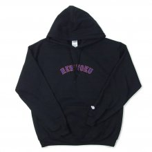UNIIN NEW-YOKU SWEAT PARKER -black-