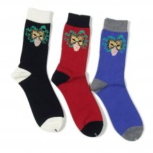 "WHIMSY ""30/2 MASK SOCKS"""