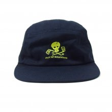 OUT OF BOUNDERS -golf armors- TWILL JET CAP -navy-