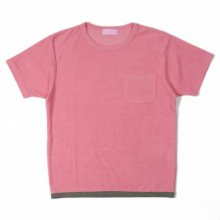EACHTIME. PILE T-SHIRT -pink-