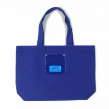 PEEL&LIFT PVC pocket canvas torte bag -blue-