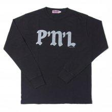 PEEL&LIFT P'N'L L/S tee -black-