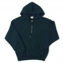 tone SCULLIES HOODY -deep green-