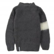 "<img class='new_mark_img1' src='//img.shop-pro.jp/img/new/icons14.gif' style='border:none;display:inline;margin:0px;padding:0px;width:auto;' />AKA SIX simon barker ""MOHAIR JUMPER"" -gray/white-"