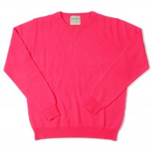 <img class='new_mark_img1' src='//img.shop-pro.jp/img/new/icons14.gif' style='border:none;display:inline;margin:0px;padding:0px;width:auto;' />JUMPER1234 CREW NECK CASHMERE KNIT -neon pink-