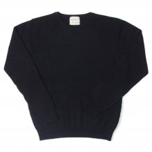 <img class='new_mark_img1' src='//img.shop-pro.jp/img/new/icons14.gif' style='border:none;display:inline;margin:0px;padding:0px;width:auto;' />JUMPER1234 CREW NECK CASHMERE KNIT -black-