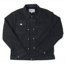 PEEL&LIFT TWEED COLLAR JEAN JACKET