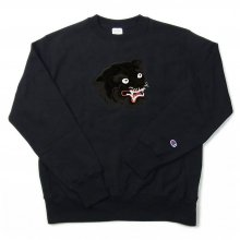 <img class='new_mark_img1' src='//img.shop-pro.jp/img/new/icons14.gif' style='border:none;display:inline;margin:0px;padding:0px;width:auto;' />LOOKER CAMO TIGER SWEAT -allblack-