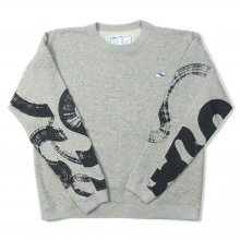 <img class='new_mark_img1' src='https://img.shop-pro.jp/img/new/icons39.gif' style='border:none;display:inline;margin:0px;padding:0px;width:auto;' />THE FABRIC UNSMERT SWEAT KAMI collaboration -gray-
