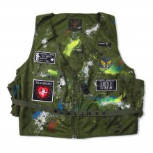 TRANSPORT Alpha E-1 Radio Vest Olive Paint & Custom -olive-