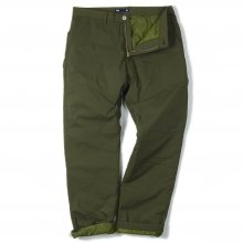 THE FABRIC PUFF PANTS -olive-