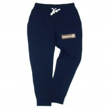 CANDYRIM -wareline- BOX LOGO SWEAT PANTS -navy-