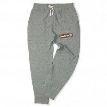CANDYRIM -wareline- BOX LOGO SWEAT PANTS -heather gray-