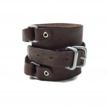 PEEL&LIFT LEATHER WRIST STRAP -choco-