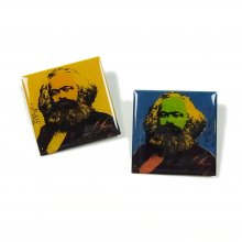 PEEL&LIFT MARX BADGE -yellow&blue-