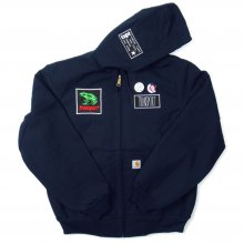 TRANSPORT Customize Carhartt Duck Jacket -NAVY-