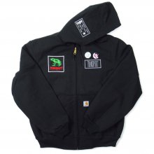 TRANSPORT Customize Carhartt Duck Jacket -BLACK-