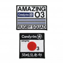 O3 RUGBY GAME wear & goods 闘球倶楽部 wappen set
