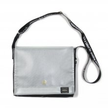 <img class='new_mark_img1' src='//img.shop-pro.jp/img/new/icons14.gif' style='border:none;display:inline;margin:0px;padding:0px;width:auto;' />RSW Rock Steady -SOUL REBELS WORKS- PVC MESSENGER BAG -PORTER MADE-